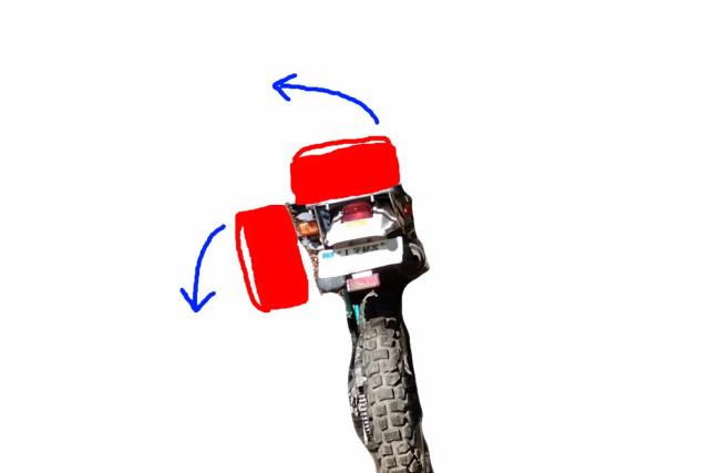 ツアーシェルケース(TANAX)の取り付け加工